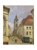 The Belfry of Douai, 1871 Giclee Print by Jean Baptiste Camille Corot