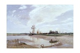 Awaiting the Tide, the Rother at Rye Giclee Print by Sir David Murray