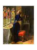 Mariana in the Moated Grange, 1851 Giclee Print by John Everett Millais