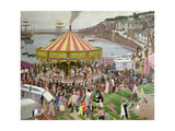 All the Fun of the Fair Giclee Print by Ernest Procter