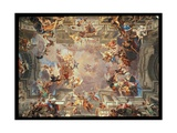 The Entry of St. Ignatius into Paradise, c.1707 Giclee Print by Andrea Pozzo