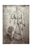 Hercules and the Nemean Lion, c.1504-8 Giclee Print by  Leonardo da Vinci