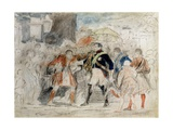 George IV (1762-1830) in Edinburgh Giclee Print by Sir David Wilkie