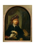 Self Portrait Giclee Print by Gerrit or Gerard Dou