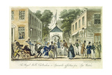 The Royal Wells, Cheltenham, or Spasmodic Affections for Spa Water, 1825 Giclee Print by Isaac Robert Cruikshank