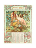 Adulthood, 1897 Giclee Print by Alphonse Mucha