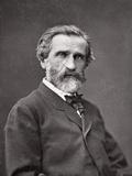 Giuseppe Verdi (1813-1901) 1877 Photographic Print by Etienne Carjat