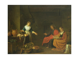 Christ in the House of Martha and Mary, 1645 Giclee Print by Hendrik Martensz Sorgh