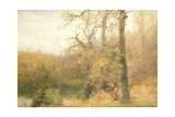 Sir Bevis and the Woodwoman, 1887-88 Giclee Print by John William North