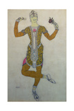 Costume Design for Nijinsky in 'Le Festin', 1909 Giclee Print by Leon Bakst