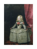 Portrait of the Infanta Margarita Teresa of Spain (1651-73) Daughter of Philip IV, c.1656 Giclee Print by Diego Rodriguez de Silva y Velazquez