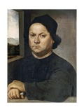 Portrait Presumed to Be Andrea Del Verrocchio Giclee Print by Lorenzo di Credi