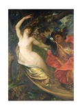 Orlando Pursuing the Fata Morgana Giclee Print by George Frederick Watts