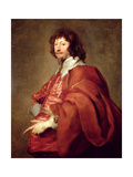 Portrait of Endymion Porter, Diplomat and Royalist Giclee Print by Sir Anthony van Dyck