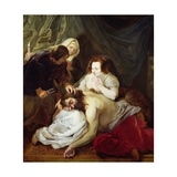 Samson and Delilah Giclee Print by Pieter Claesz Soutman