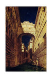 Bridge of Sighs, 1833-35 Giclee Print by William Etty