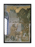 Construction of the Tower of Babel, 1360-70 Giclee Print by Giusto Di Giovanni De' Menabuoi