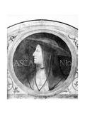 Portrait of Cardinal Ascanio Sforza Giclee Print by Bernardino Luini