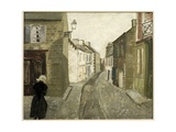 Street Scene in Treboul, 1930 Giclee Print by Christopher Wood