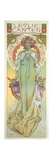 Leslie Carter (1862-1937), 1908 Giclee Print by Alphonse Mucha
