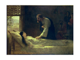 The Raising of Jairus's Daughter, 1889 Giclee Print by Edwin Longsden Long