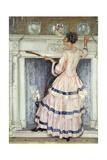 Mrs. Kelsey in Pink, 1919 Giclee Print by William Bruce Ellis Ranken