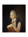 Portrait of Robert Sewell (B.1735) c.1762 Giclee Print by Tilly Kettle