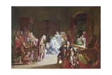 The Re-Enactment of the Death of Hamlet's Father, Act III, Scene 2 Giclee Print by Sir John Gilbert