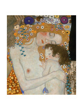 The Three Ages of Woman, 1905 (Detail) Reproduction procédé giclée par Gustav Klimt