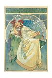 Princess Hyacinth, 1911 Giclée-tryk af Alphonse Mucha