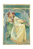 Princess Hyacinth, 1911 Gicléedruk van Alphonse Mucha