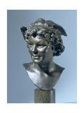 Head of Mercury Giclee Print by Edouard Lanteri
