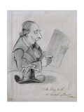 Mr Monteath of Dumfries, Scotland in the Bulls Library, Bath, 1796 Gicleetryck av John Nixon