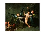 The Ascent into the Empyrean or the Highest Heaven, Panel from an Altarpiece Thought to Be the… Giclee Print by Hieronymus Bosch