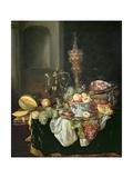 Still Life: Banquey Piece Giclee Print by Abraham Hendricksz Van Beyeren