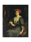 Miss Chloe Preston, c.1909 Giclee Print by James Jebusa Shannon
