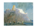 In the Bay of Sorrento Giclee Print by Hercules Brabazon Brabazon