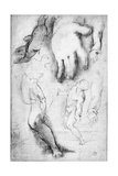 Study for the Figure of St. Francis Giclee Print by Federico Barocci