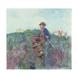 The Herdboy, 1886 Giclee Print by Edward Arthur Walton