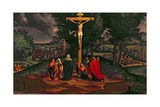 The Crucifixion, 1515-20 Giclee Print by Andrea Previtali