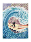 Tidal Wave, 1993 Giclee Print by Liz Wright