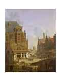 Street Scene Giclée-Druck von Jan Hendrik Verheyen