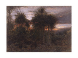 "The Jungle, ""Wherein All the Beasts of the Forest Do Move"" Giclee Print by Albert Goodwin"