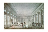 The Pump Room, Bath Giclee Print by John Claude Nattes