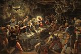 The Last Supper, 1594 Giclée-Druck von Jacopo Robusti Tintoretto
