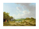 A Gypsy Encampment, 1788-98 Giclee Print by George Morland