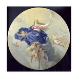 The Assumption of the Virgin, c.1656 Lámina giclée por Philippe De Champaigne