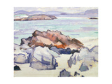 Rocks, Iona Giclee Print by Samuel John Peploe
