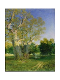 Summer Evening, Cadzow Giclee Print by Samuel Bough