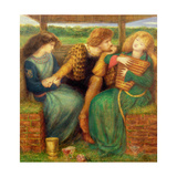 The Merciless Lady Giclee-trykk av Dante Gabriel Rossetti